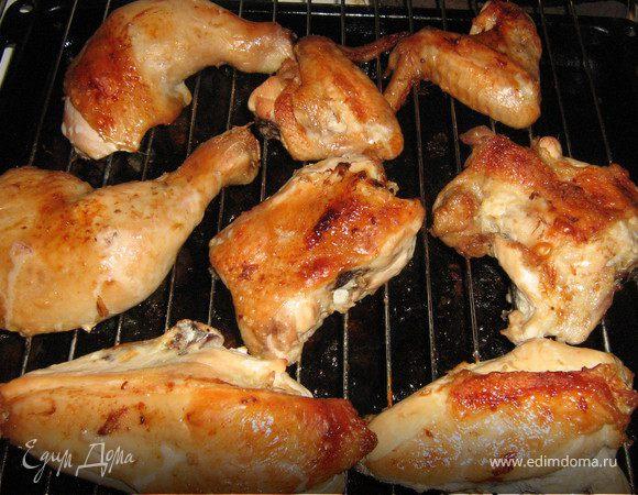 Как приготовить курицу гриль в домашних условиях духовке 992