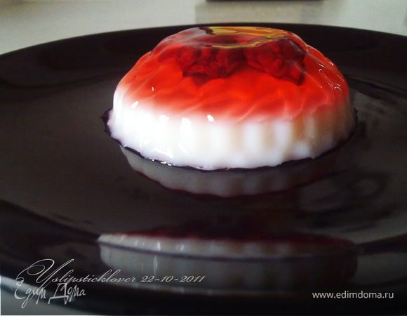 ягодно-молочное желе рецепт с фото-хв4