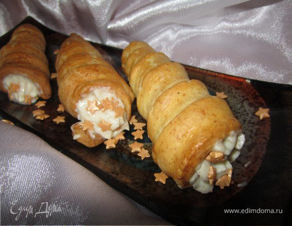 Трубочки рецепт фото пошагово