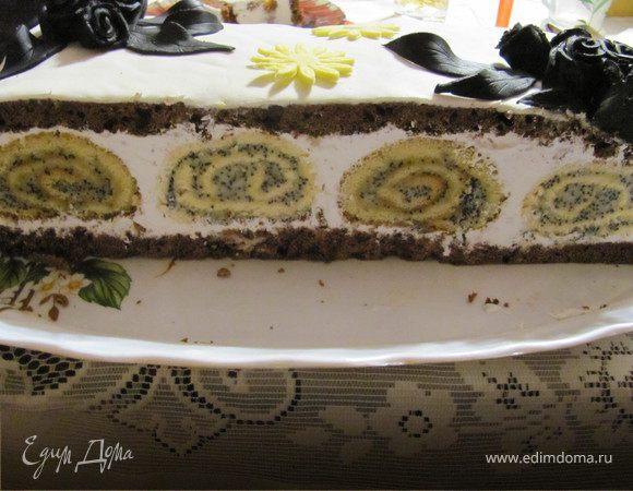 Торт черная роза рецепт с фото