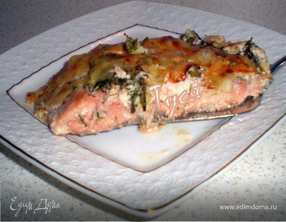 Горбуша запеченная в сметане в духовке рецепт с пошагово