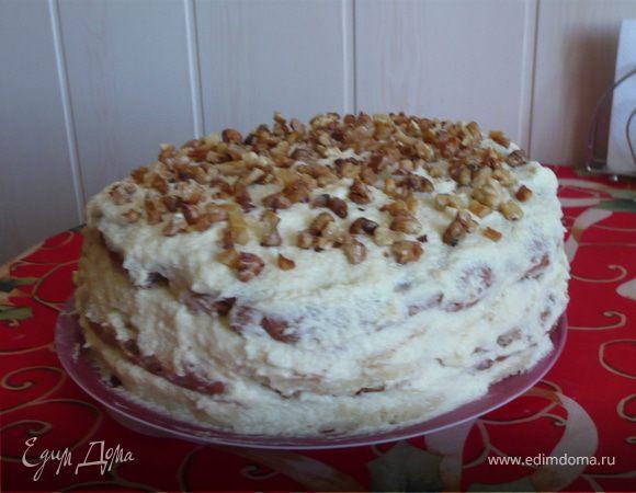 Рецепты бисквитных тортов с заварным кремом