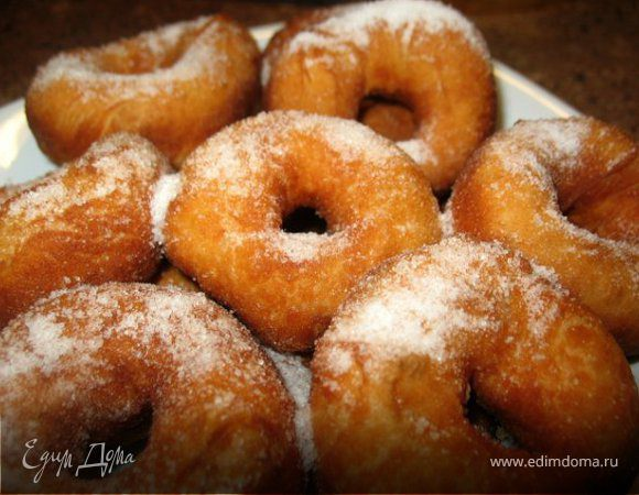 Приготовить пончики в домашних условиях
