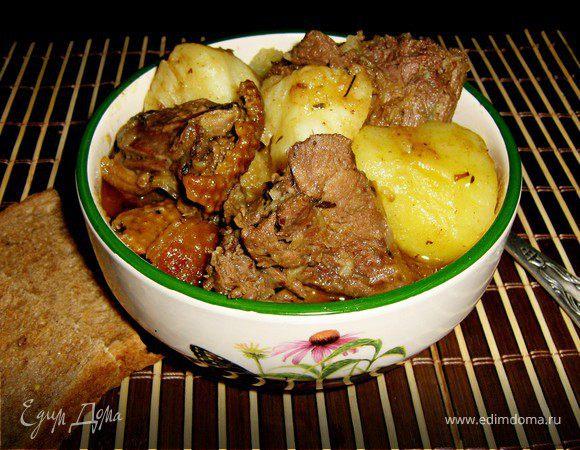 Соус с уткой и картошкой рецепт