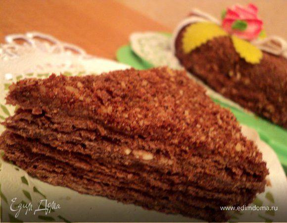 Торт наполеон шоколадный рецепты
