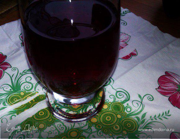 Компот из черной смородины рецепт фото