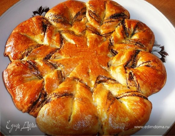 Пирог с маком простой рецепт с фото