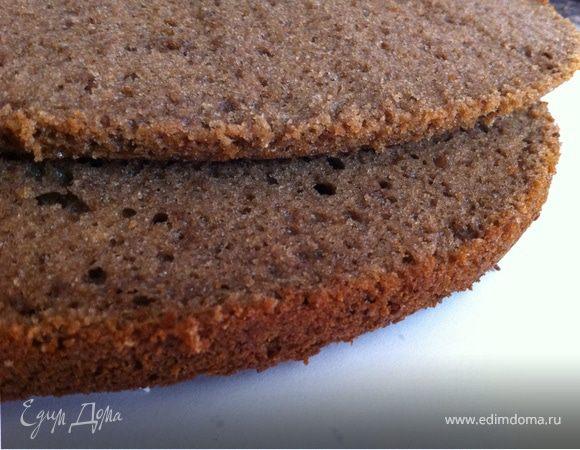 Идеальный шоколадный бисквит рецепт с фото