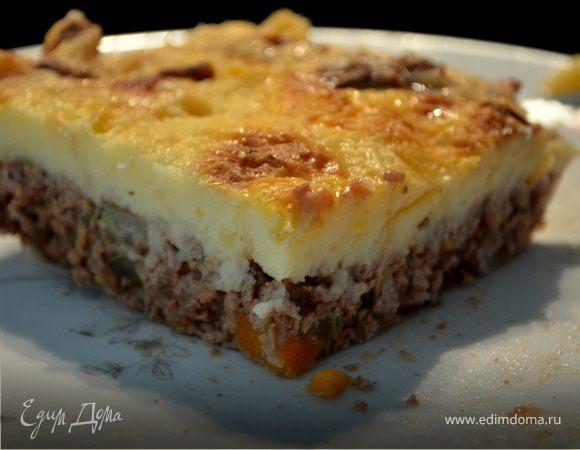 Пастуший пирог классический рецепт с пошагово