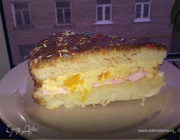 Зефирный торт суфле фото