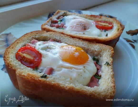 Вкусные завтраки для мужчины рецепты