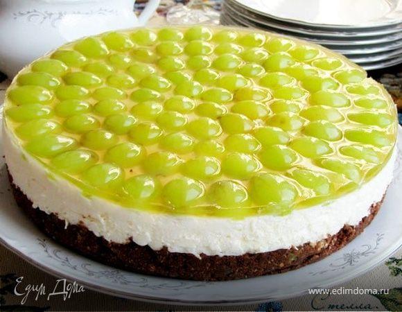 Торт из винограда фото