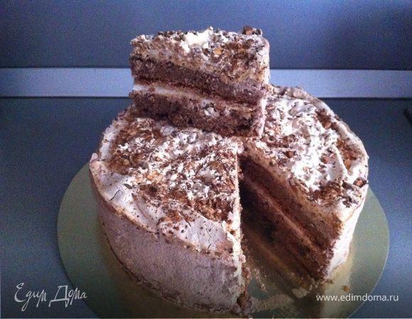 Рецепт с фото торта наслаждение