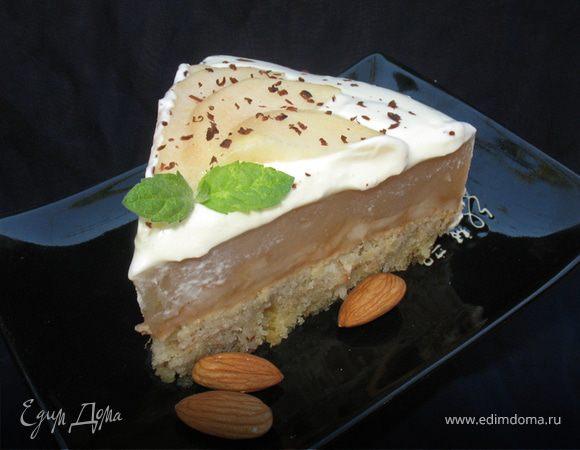 Грушевый торт фото рецепт