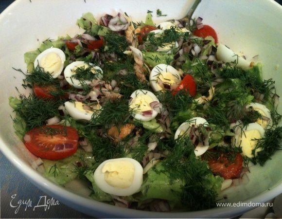 Салат с консервированным морским коктейлем рецепты с