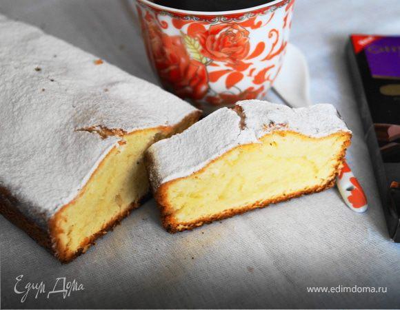 Творожный кекс по госту видео рецепт