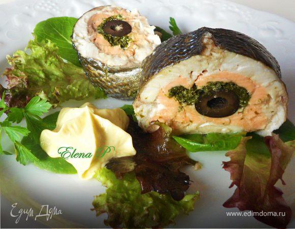Рыба фаршированная рецепт кусками