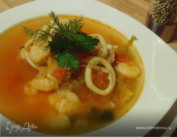 рецепт рыбного супа от высоцкой