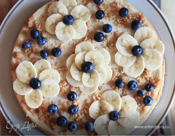 домашний торт банановый рецепт фото
