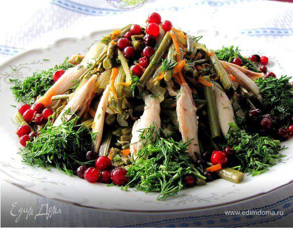 Салат из папоротника рецепт очень вкусный