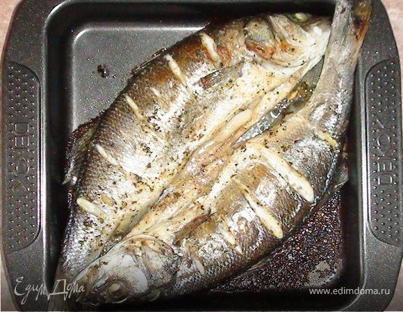 рыба в духовке рецепт с юлией