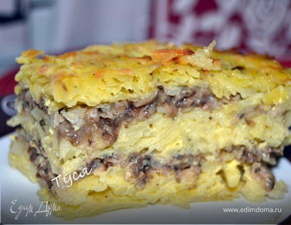 Пирог с солеными грибами рецепты с