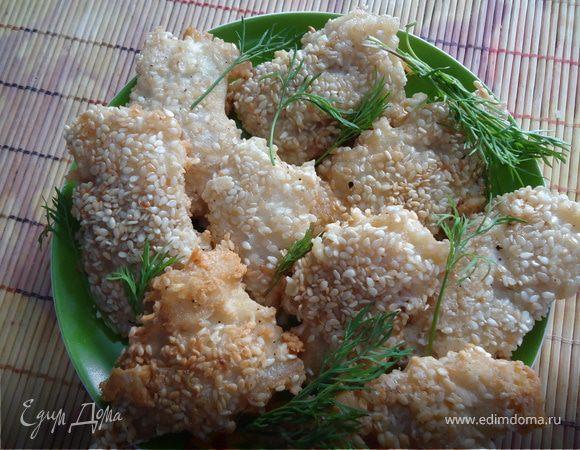 Филе в кунжуте рецепт с фото