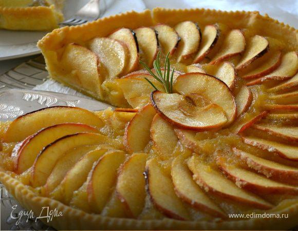 Французский пирог с яблоками рецепт с фото пошагово в духовке