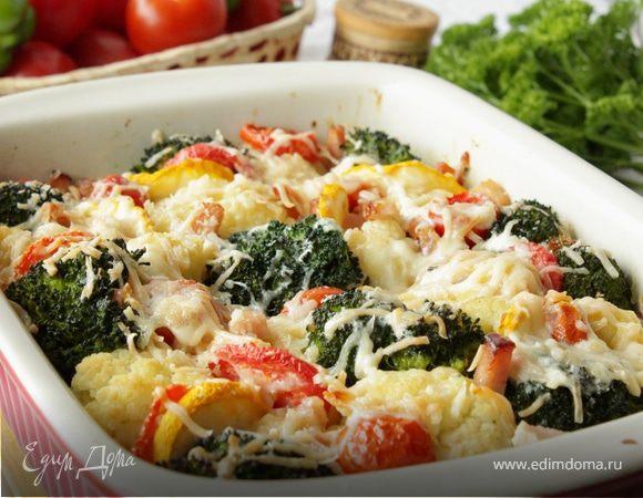 блюда с цветной и брокколи капустой