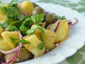 салат с красным луком и мясом рецепты