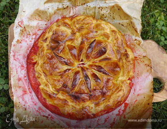 Сливовый пирог рецепт с фото высоцкая
