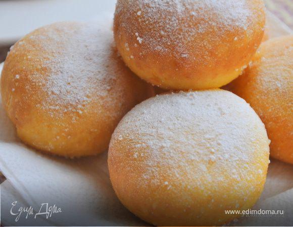 Пончики на воде с дрожжами рецепт пышные