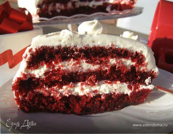 торт красный бархат пошаговый фото рецепт