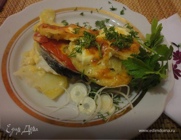 Филе рыбы запеченная в духовке пошаговый рецепт 106