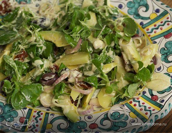 Салат с авокадо рецепты высоцкая
