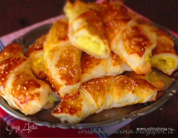 Рогульки с картошкой рецепт с фото