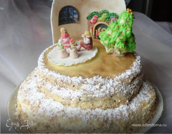Домашние двухярусные торты фото