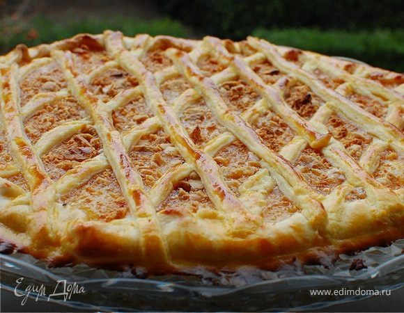 "Готовим быстрый пирог с джемом. Рецепт с фото - на сайте ""Едим Дома"""