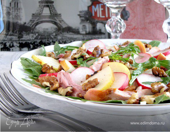 Рецепт салата цада с фото