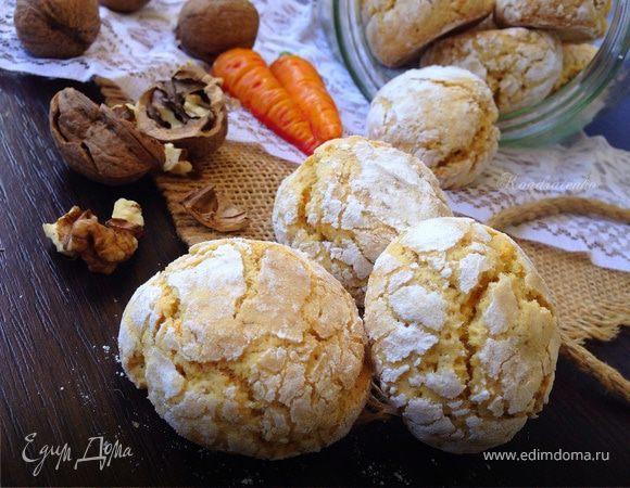 Печенье с трещинками рецепт с фото