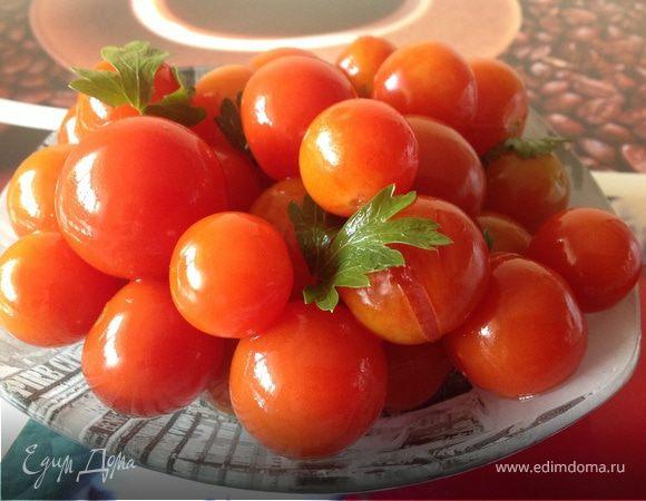 Быстрые малосольные помидоры рецепт фото