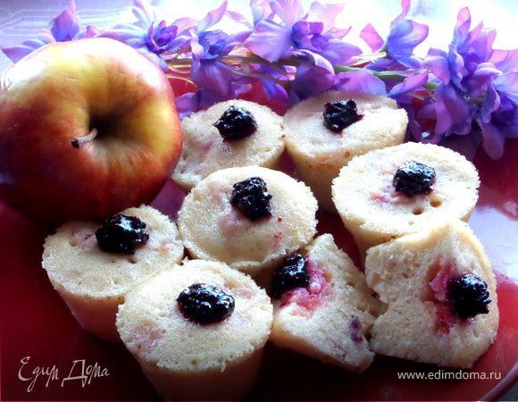 Кексики с яблоками рецепты с фото