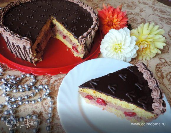 Кулинарная книга Алии: 652. Ананасовый торт | 450x580