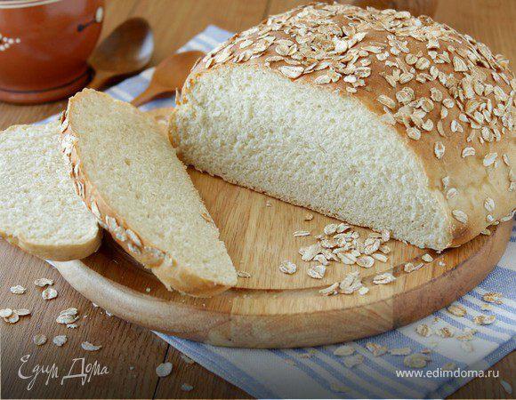 Хлеб только из овсяной муки рецепт
