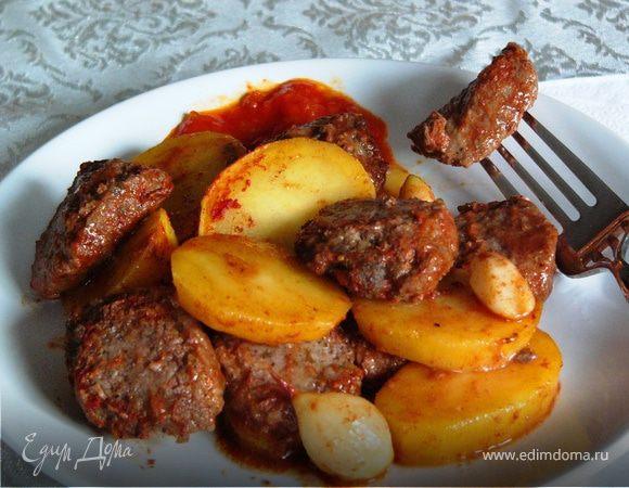 котлеты с картошкой в соусе пошаговый рецепт