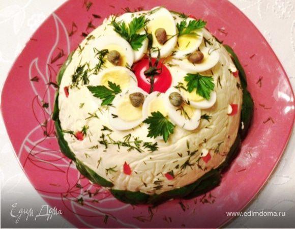 Мясной салат к праздничному столу рецепты с
