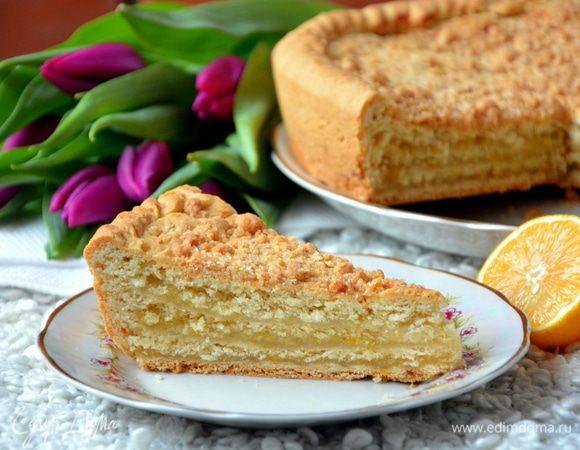 Трехслойный пирог лимонник рецепт