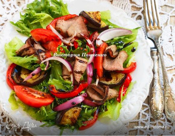 Самые популярные мясные овощные салаты