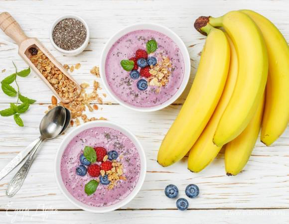 Витаминное утро: 10 рецептов смузи от «Едим Дома»